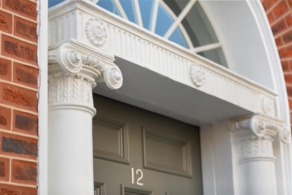 12-13 Dorset Street Upper - Georgian door arch