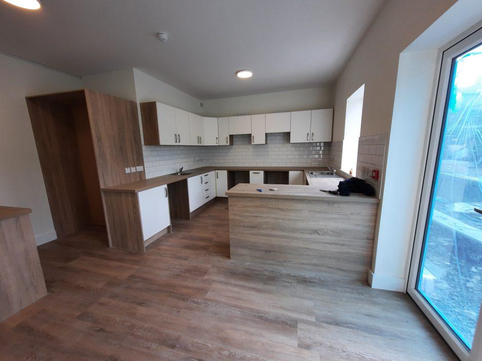Carraig Eden - new kitchen