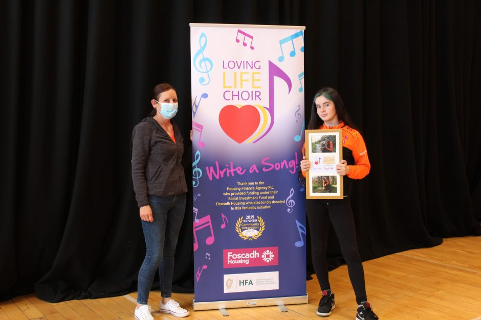 Nikita wins first prize for her artist impression of the song's main character