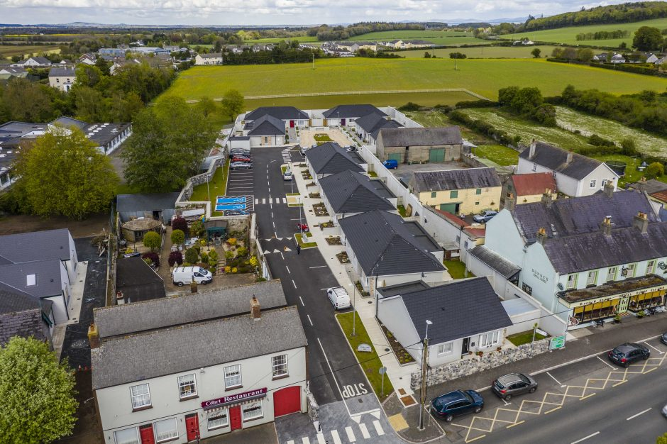 Court View - Aerial view