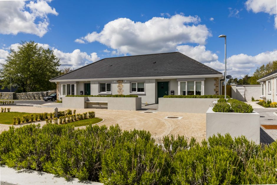 Court View - front exterior view bungalow
