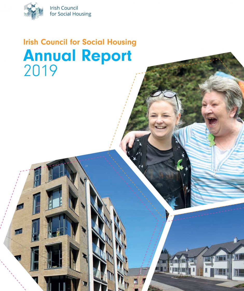 ICSH Annual Report 2019 Cover