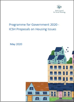ICSH Programme for Government 2020 Submission Cover Image