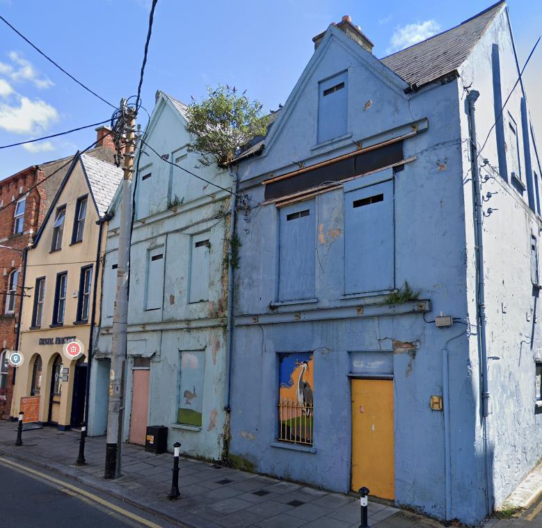 Shandon Street / John Philpott Curran Street Project - View before project
