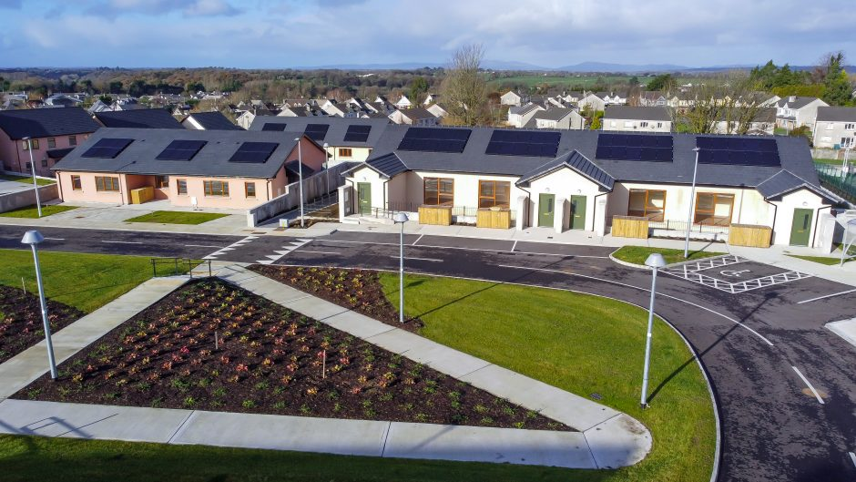 Duntahane - Open space with the development