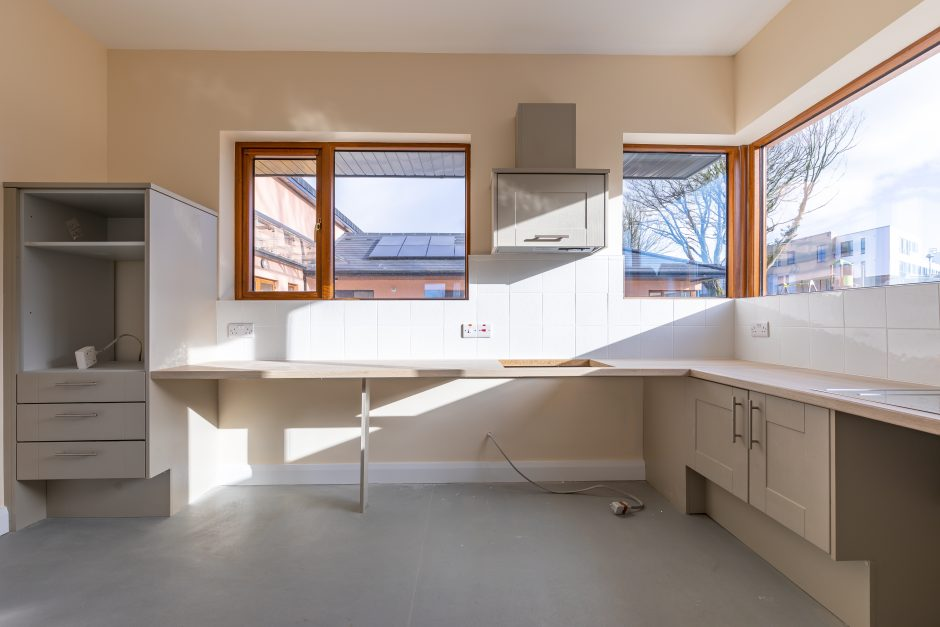 Duntahane - Accessible kitchen in 4 bed accessible houses