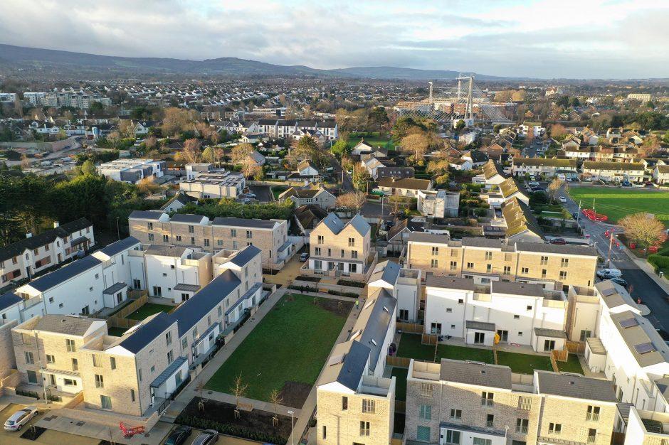 Rosemount Court - Aerial View