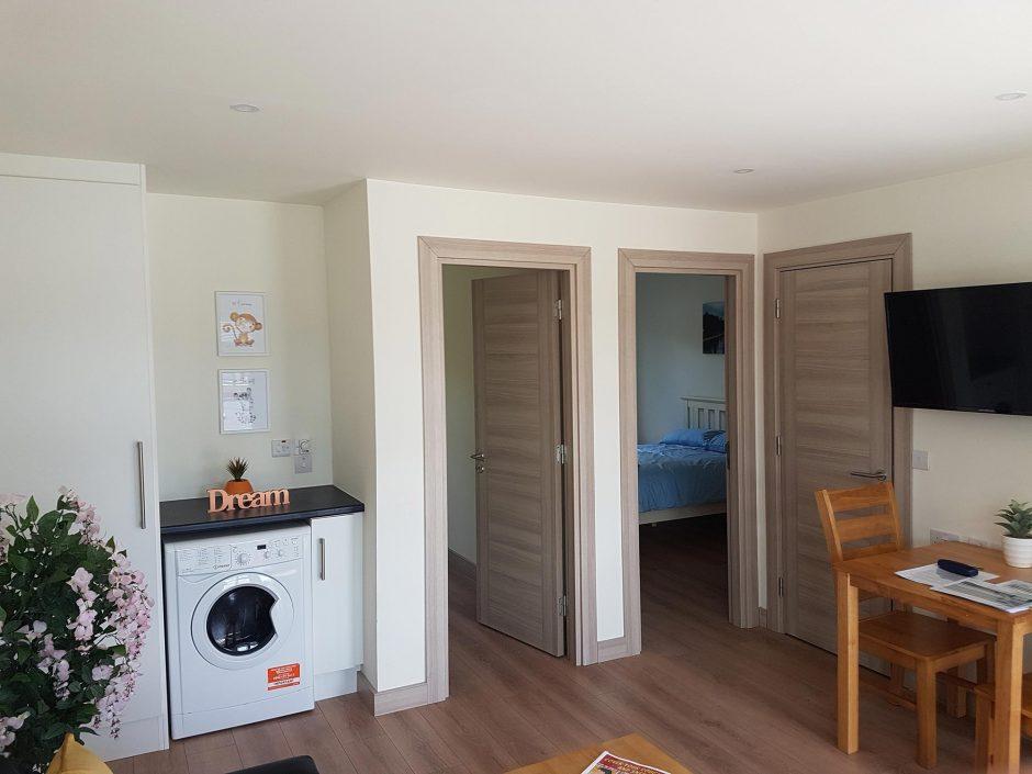 Westside Modular Family Hub - Interior view